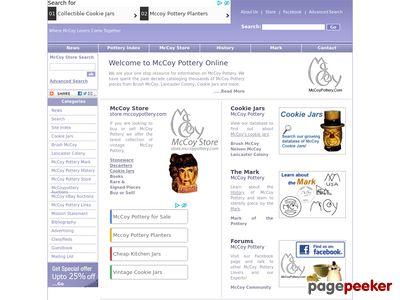 mccoypottery.com