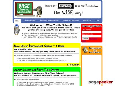 wisetrafficschool.com